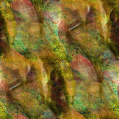 Seamless brown cubism abstract art Picasso texture watercolor wa — Stock Photo