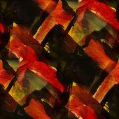 Texture aquarell, rot, schwarz, abstrakte kunst nahtlose hintergrund v — Stockfoto