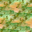Stock Photo: Texture green, brown watercolor seamless background vintage hand