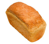 Loaf of bread baking delicious isolated — Stock Photo