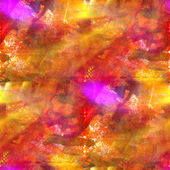 Color seamless background red, yellow watercolor water art textu — Stock Photo
