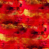 Art red seamless texture, watercolor — 图库照片