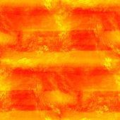 Art yellow band seamless texture, watercolor — Stock Photo
