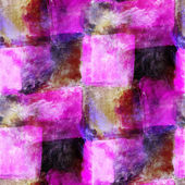Abstract purple, black, cage avant-garde seamless wallpaper wate — Stock Photo