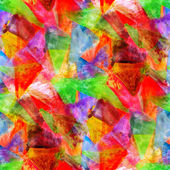 Abstract red, green avant-garde seamless wallpaper watercolor ar — Stok fotoğraf
