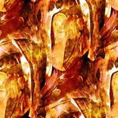 Seamless wallpaper watercolor brown abstract avant-garde a — Stock Photo