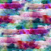 Seamless red, green wallpaper watercolor abstract avant-garde ar — 图库照片