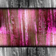 Emo pink abstract grunge texture with cracks in paint wallpaper - Stock Photo