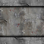 Background old concrete wall with cracks texture wallpaper — Stock Photo