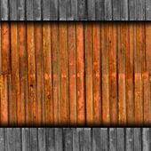 Bandet textur järn rostar brun bakgrund tapeter — Stockfoto