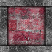 New design of modern red wall decorative granite background ston — Stock Photo