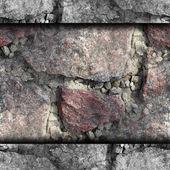Roter granittextur, die ränder der tapete — Stockfoto
