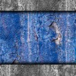 Texture of rusty blue colored rough background for your message — Stock Photo #25416119