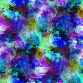 Abstract purple, blue, green seamless texture watercolor brush s — Stock Photo