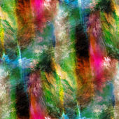 Abstract green, pink seamless texture watercolor brush strokes h — Stockfoto