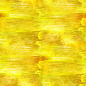 Hand paint background art yellow seamless wallpaper watercolor b — Stock Photo