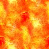 Hand paint background yellow, orange art seamless wallpaper wate — Stock Photo