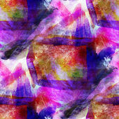 Hand paint purple, blue, pink background seamless wallpaper wate — Stock Photo