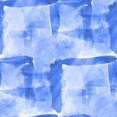 Malen sie blaue hand hintergrund kunst nahtlose tapeten aquarell abs — Stockfoto
