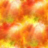 Yellow, orange paint hand background art seamless wallpaper wate — Stock Photo