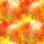 Yellow, orange paint hand background art seamless wallpaper wate — Stock Photo