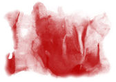Stroke paint red splatters color watercolor abstract water brush — Photo