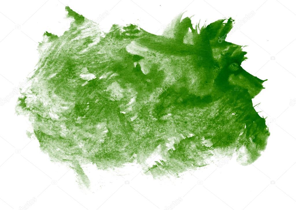 Salpicaduras de pintura verde trazo color acuarela for Pintura verde agua