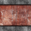 Brown rusty iron background wall grunge fabric abstract stone te - Stock Photo