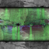 Old green iron line background texture wallpaper — Stock Photo