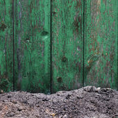 Plot old fence board texture background wallpaper for your messa — Stock Photo