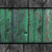 Texture wooden fence old green background your message wallpaper — Stock Photo