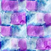 Avant-garde arte mano vernice sfondo blu, viola senza saldatura parete — Foto Stock