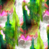 Art green, pink avant-garde hand paint background seamless wallp — ストック写真