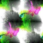 Verde de arte, pintura de la mano púrpura fondo transparente acuarela wal — Foto de Stock