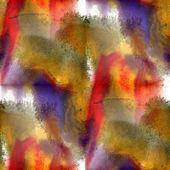 Kunst bruin, rood, paars avant-garde achtergrond hand verf gelast — Stockfoto