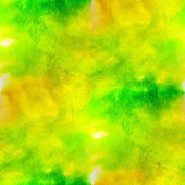 Art yellow, green avant-garde hand paint background seamless wal — Foto de Stock