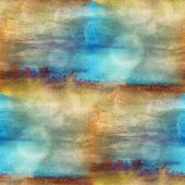 Background texture watercolor brown, blue seamless abstract patt — Stock Photo