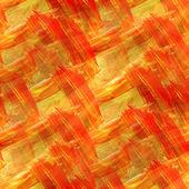 Modello sfondo texture acquerello arancione, giallo trasparente ab — Foto Stock