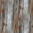 Seamless fence texture wooden old background gray your message w — Stock Photo