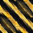 Royalty-Free Stock Photo: Seamless yellow black stripe texture background grunge fabric ab