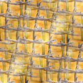 Yellow, black, mesh background texture watercolor seamless abstr — Stock Photo