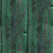 Seamless texture wooden fence old green background your message — Stock Photo