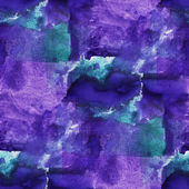 Seamless blue, purple cubism abstract art Picasso texture waterc — Stock Photo
