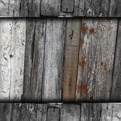 Texture wooden old gray fence background your message wallpaper — Stock Photo