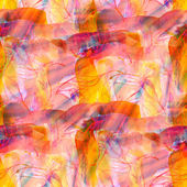 Design watercolor seamless background a yellow, red texture abst — Stock Photo