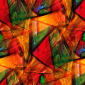 Conception jaune, rouge, vert aquarelle sans soudure de fond une textu — Photo