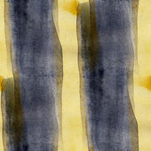 Watercolor black, yellow seamless background texture abstract pa — Stock Photo