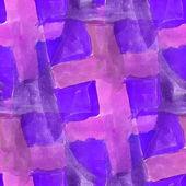 Aquarell lila nahtlose Hintergrund Texturen abstrakt malen pat — Stockfoto