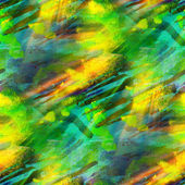 Watercolor seamless background green, yellow texture abstract pa — Stock Photo