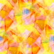 Sunlight abstract watercolor yellow red green blueseamles — Stock Photo #26820363